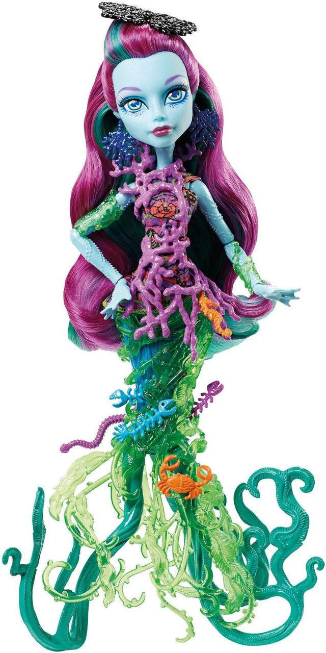 Monster High Поси Риф из серии Большой Скарьерный Риф Great Scarrier Reef Posea Reef Doll
