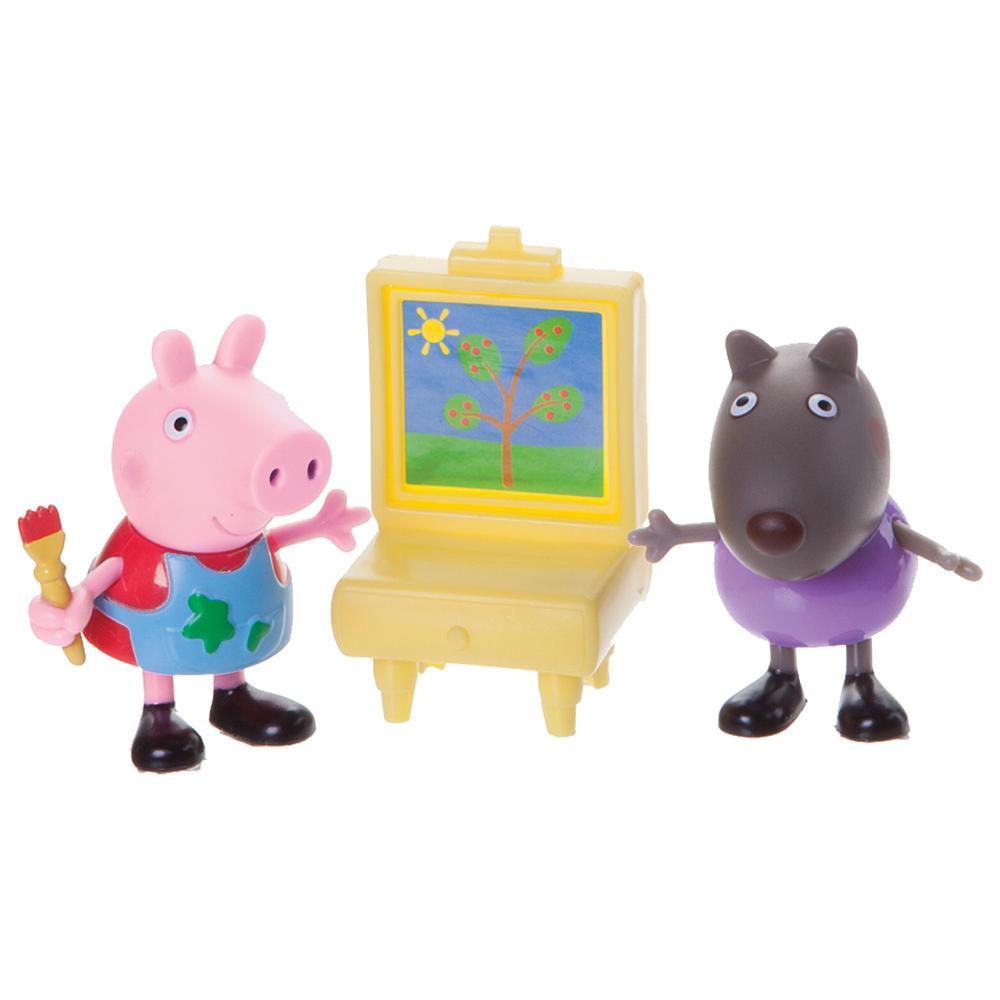 Peppa Pig набор фигурок свинка Пеппа оригинал