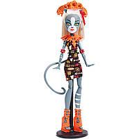 Monster High Мяулодия Монстры на отдыхе Ghouls Getaway Meowlody Doll, фото 1