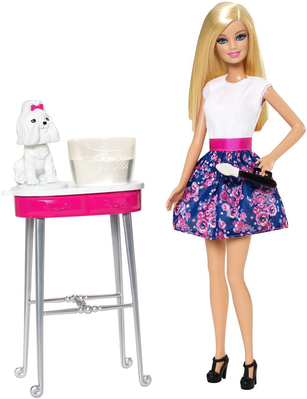 Набор Барби Гламурный салон для любимцев Barbie Color Me Cute Doll