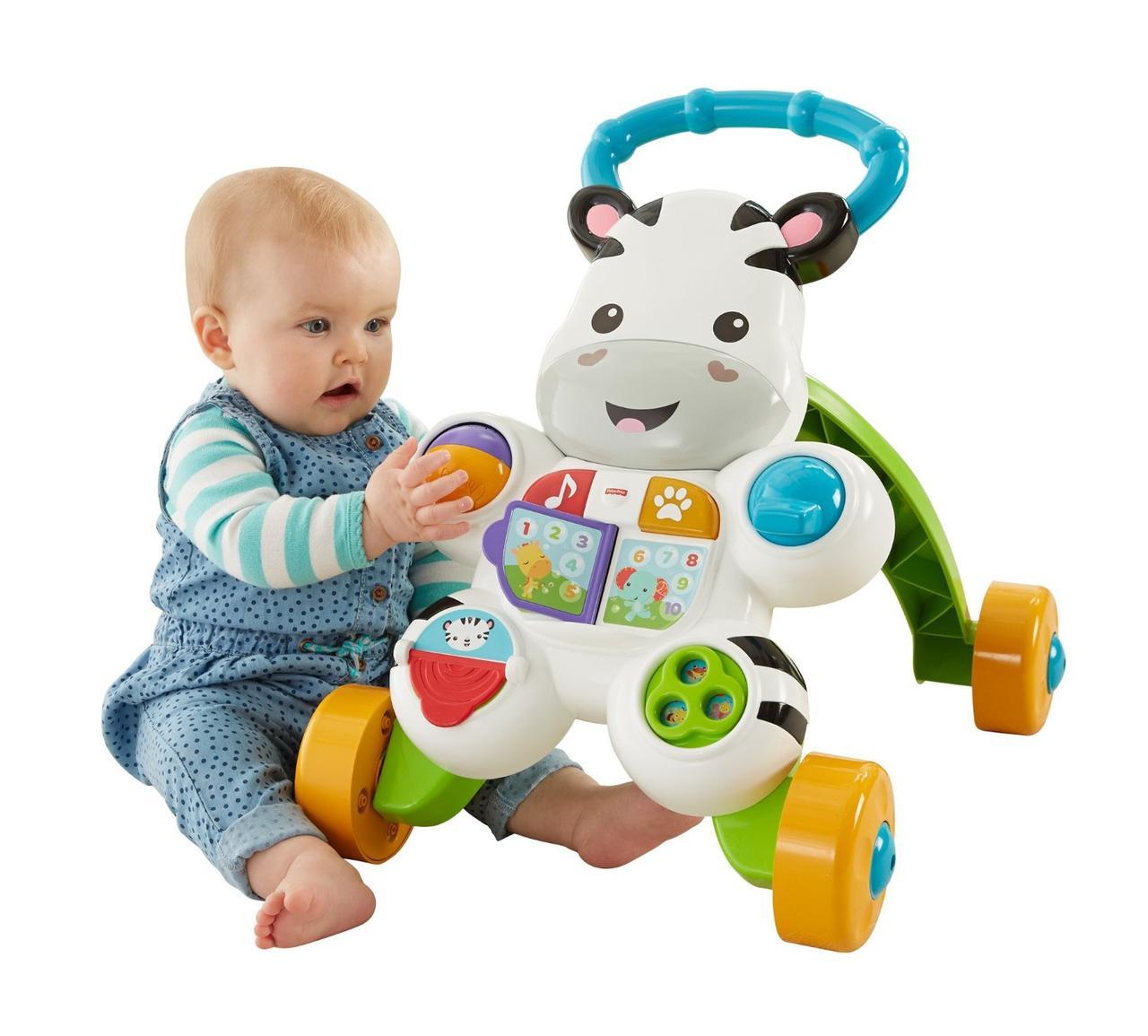 Fisher Price Ходунки-толкатели игровой центр Зебра Learn with Me Zebra