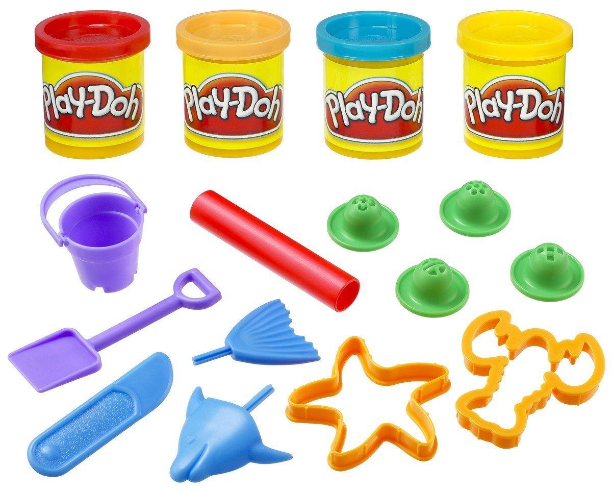 Набор пластилина Play-Doh Мини ведерко Пляж