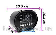 Качественный ФМ Радиоприемник NS, качественный радиоприемник,фм радио,часы,будильник, фм радиоприемник,NS Q52,, фото 3