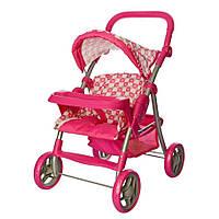 Игрушечная летняя прогулочная коляска для кукол , корзина для покупок, складная ручка, ремень, козырек