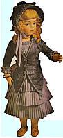 Мастер-класс по шарнирной кукле 19 века