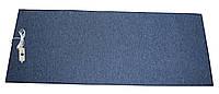 🔝 Электрический ковер подогревом, Трио, инфракрасный коврик, цвет - тёмно-синий Трио | 🎁%🚚