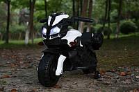 Детский мотоцикл на аккумуляторе Baby Tilly T-7218, цвет черный