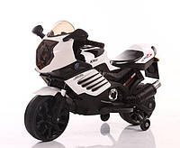 Детский мотоцикл на аккумуляторе Tilly T-7210, цвет белый