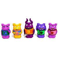Набор героев персонажей Kronos Toys м ф Дом 5 шт 15406 Разноцветные tsi23974, КОД: 286114
