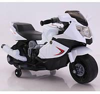 Детский мотоцикл на аккумуляторе Tilly T-7215, цвет белый