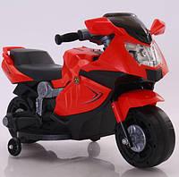 Детский мотоцикл на аккумуляторе Tilly T-7215, цвет красный