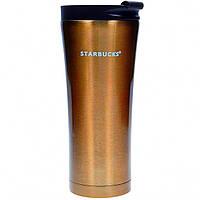Термокружка Starbucks 500 мл Золото 107277G, КОД: 384277