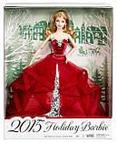 "Barbie ""Праздничная 2015"" Collector 2015 Holiday Caucasian, фото 6"