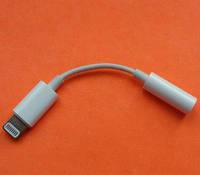 Адаптер Lightning 3.5 iPhone 7 Переходник на Наушники Аудио Кабель