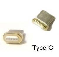 Коннектор Magnetic Type-C Наконечник на Магнитный Кабель Зарядки Телефона Тип С