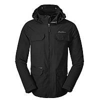 Куртка Eddie Bauer Mens Atlas Stretch Hooded Jacket XL Black 0049BK-XL, КОД: 260683