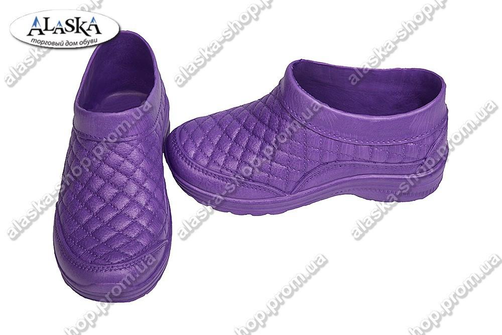 Галоши женские фиолетовые (Код: Б-03)