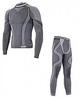 Мужское термобелье Hanna Style Haster Merino Wool 8  XS Темно-серый h0228, КОД: 1347698