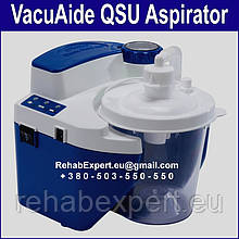 Відсмоктувач медичний DeVilbiss VacuAide QSU Suction Unit 27 l/min
