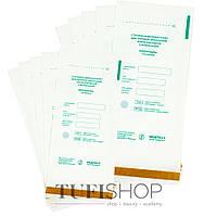 Крафт-пакет для паровой и воздушной стерилизации белые 100х200 мм, 100шт