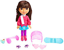 Fisher-Price Даша мандрівниця Зимові пригоди Nickelodeon Dora and Friends Winter Theme Dora Figure