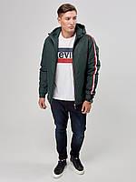 Мужская демисезонная куртка RiccardoТ1 L Хаки 3rc00250, КОД: 1289201
