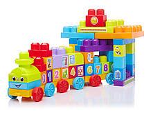 Mega Bloks Конструктор Поїзд з цифрами First Builders 1-2-3 Learning Train