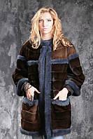 Шуба из американской норки GLAMA Real mink fur coats jackets, фото 1