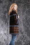 Шуба из американской норки GLAMA Real mink fur coats jackets, фото 3