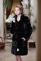 Шуба из норки BlackGlama mink fur coat fur-coat furcoat, фото 1