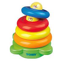 Tomy Веселая пирамидка Happy Stack