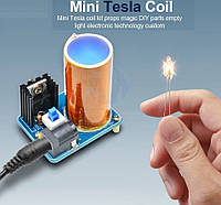 Мини Тесла Модуль Катушки 9-12 В Комплект Плазменный Беспроводной Передатчик