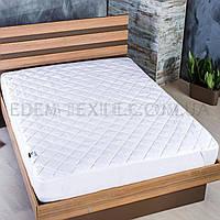 Наматрасник на кровать стеганый Comfort 180х200, Белый, 180х200