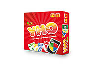 Настольная игра Strateg UNO: ЛЮКС 2 в 1(40256)