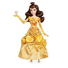 DISNEY STORE Принцессы Диснея Белль и чашечка Чип Belle Classic Doll with Chip