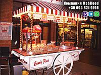 """Торговая тележка для сладкой ваты """"CandyBar""""  (РТД-4)., фото 1"""