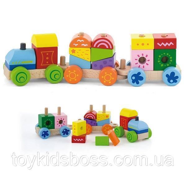 "Іграшка Viga Toys ""Поїзд"" (50534)"