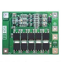 Контроллер Заряда Разряда BMS 3S 40A 12.6V