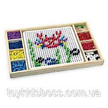 """Гра Viga Toys 2-в-1 """"Мозаїка та лудо"""" (59990)"""