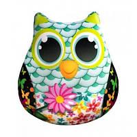 Антистрессовая игрушка SOFT TOYS - Сова с цветами Оригинал