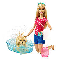 Barbie Игровой набор Веселое купание щенка Splish Splash Pup Playset DGY83