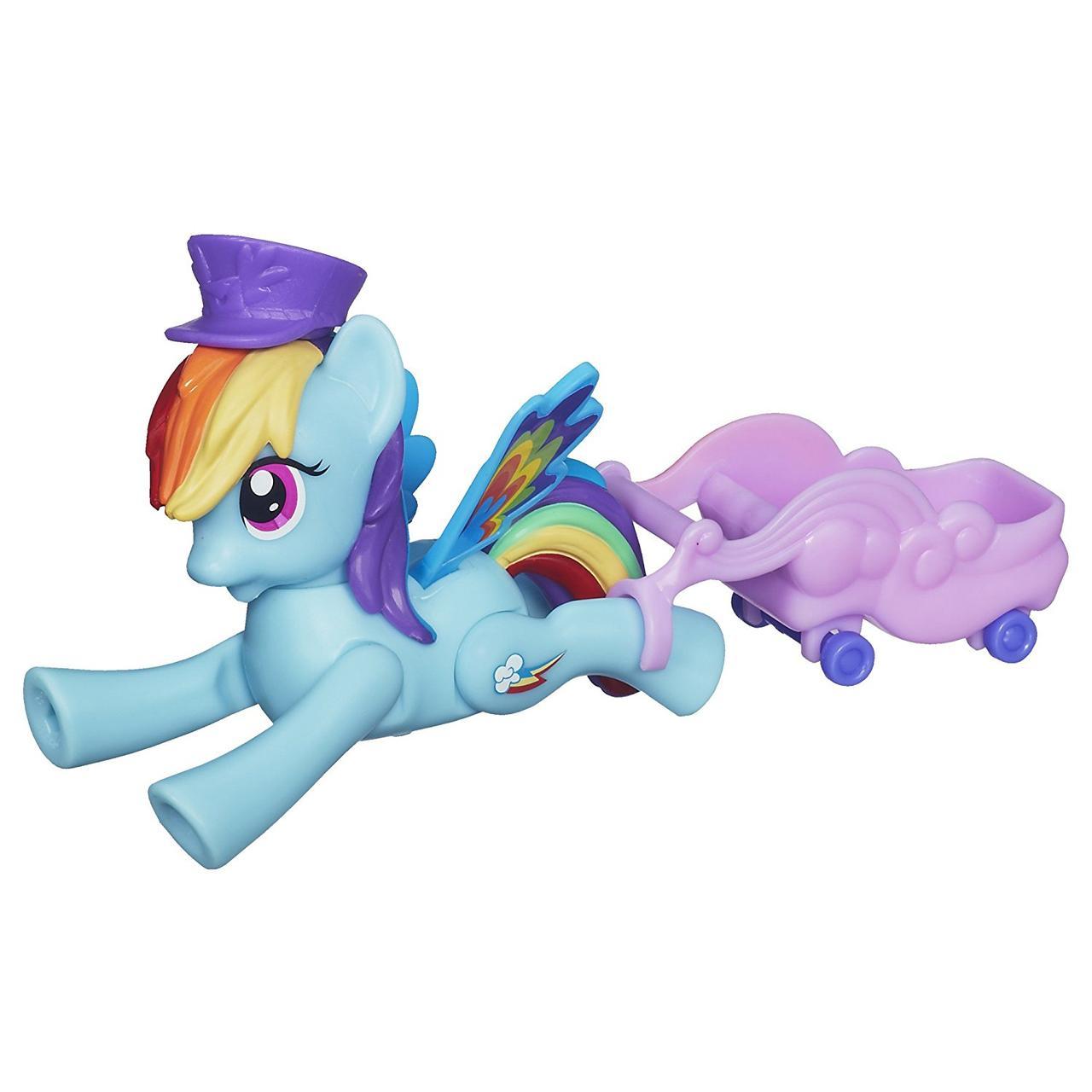 My Little Летающие пони Радуга Pony Zoom n Go Rainbow Dash Doll