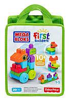 MEGA Bloks First Builders Первые строители Приключения животных Animal Adventures Playset CNH10, фото 1