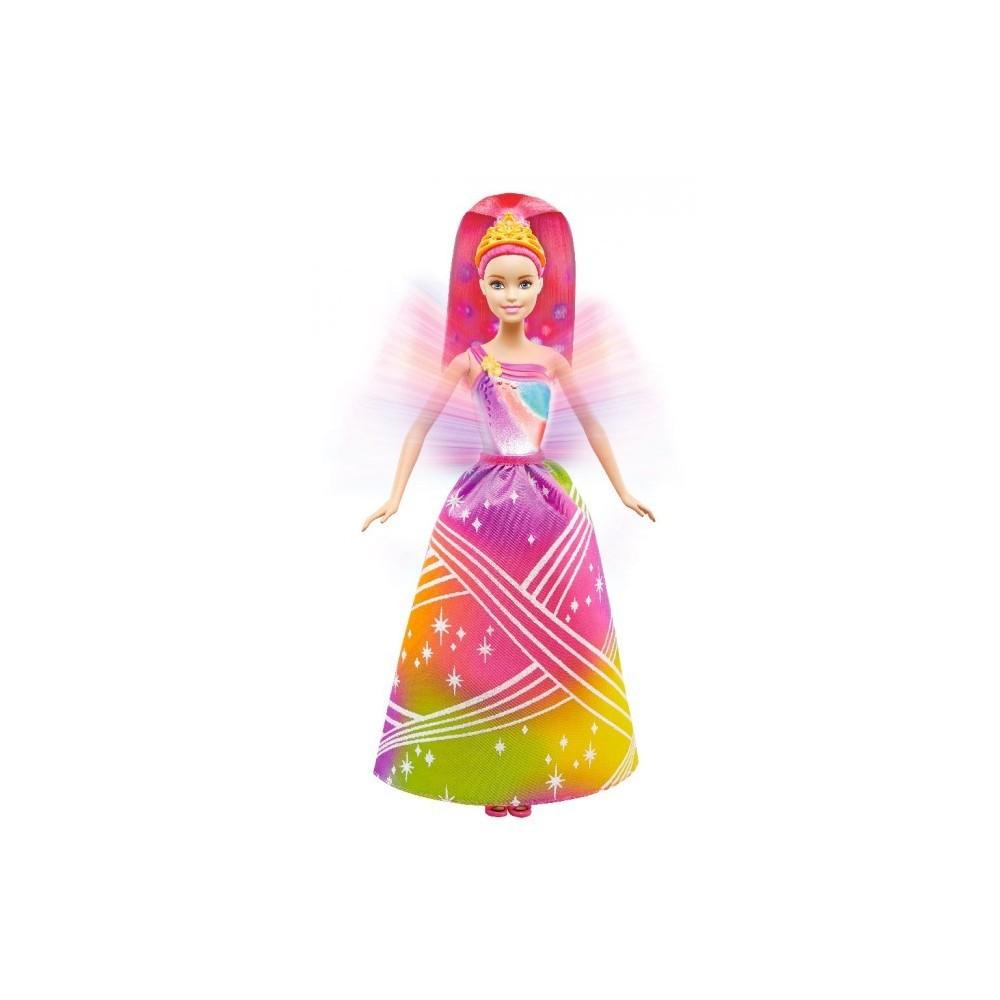 Barbie Принцесса Радужное сияние Dreamtopia Rainbow Cove Light Show Princess Doll DPP90