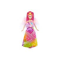 Barbie Принцесса Радужное сияние Dreamtopia Rainbow Cove Light Show Princess Doll DPP90, фото 1