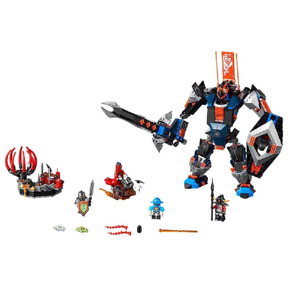 Lego Nexo Робот Чёрный рыцарь Knights The Black Knight Mech 70326