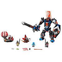 Lego Nexo Робот Чёрный рыцарь Knights The Black Knight Mech 70326, фото 1
