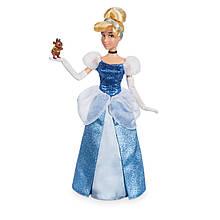 DISNEY STORE Принцессы Диснея Золушка с мышонком Cinderella Classic Doll with Gus Figure 12''