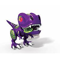 Zoomer Интерактивный детеныш Динозавра фиолетовый Chomplingz Chance