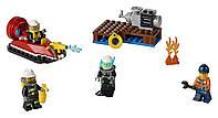 LEGO CITY Набор для начинающих Пожарная охрана Fire Starter Set 60106, фото 1